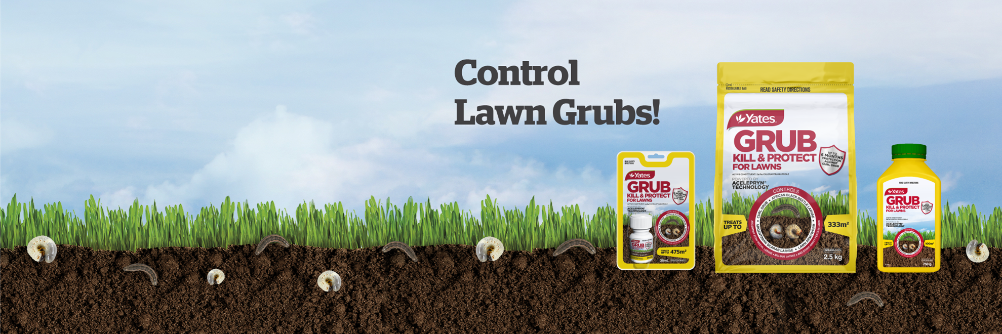 Yates Grub Kill & Protect for Lawns